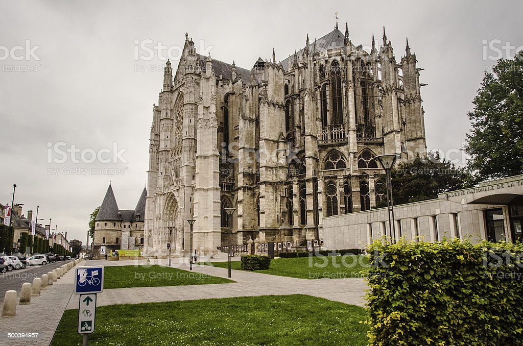 Beauvais Cathedral stock photo