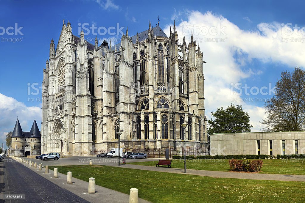 Beauvais stock photo