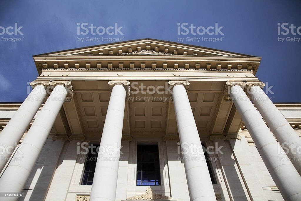 Beaux Arts/Neo-Classical Columns stock photo