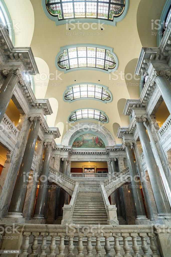 Beaux-Arts style Kentucky State Capitol stock photo