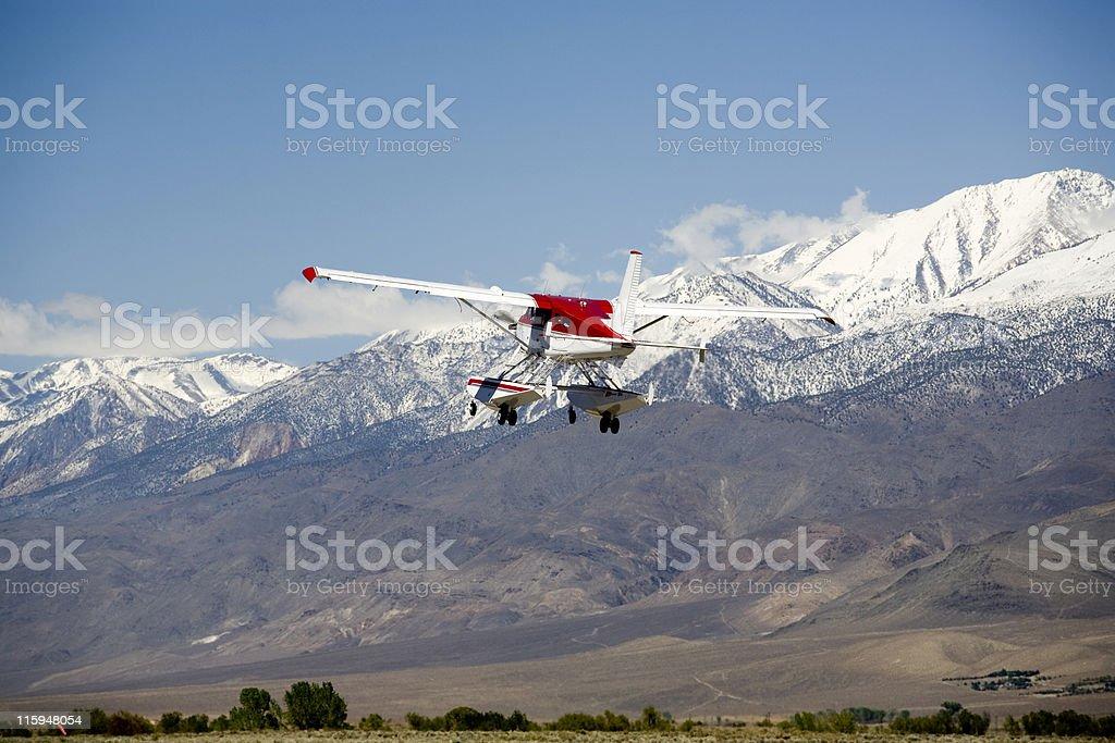 Beaver Float Plane-2 stock photo