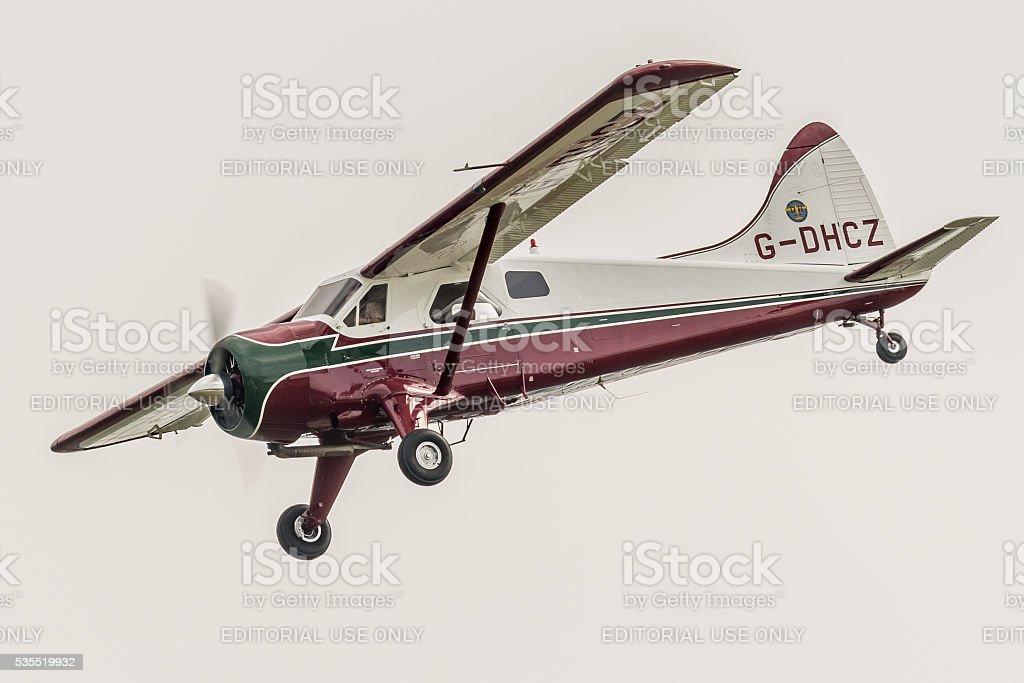 Beaver light transport aircraft stock photo