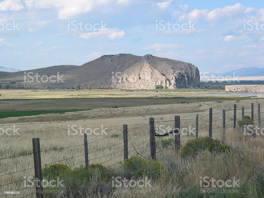 Beaverhead Rock royalty-free stock photo