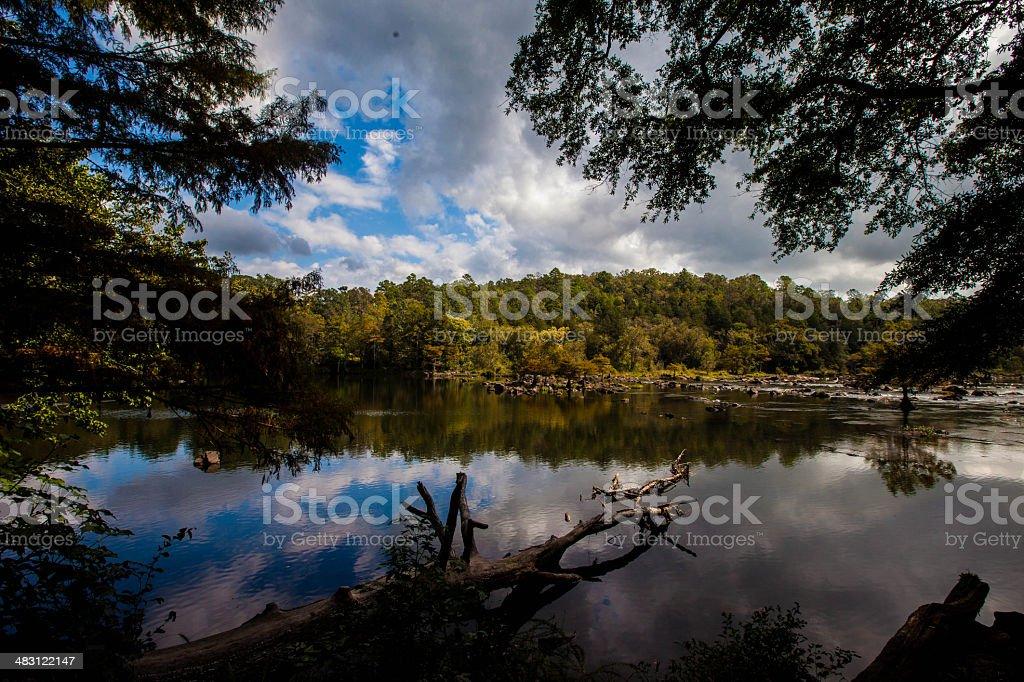 Beavers Bend Oklahoma Lake stock photo