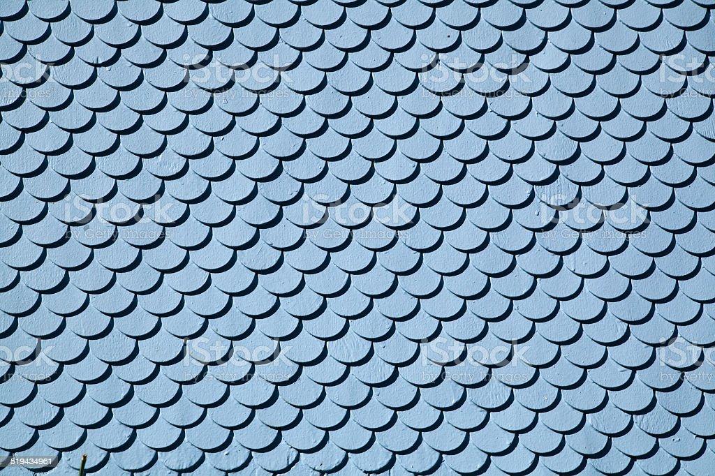 Biberschwanz-Dachschindeln stock photo