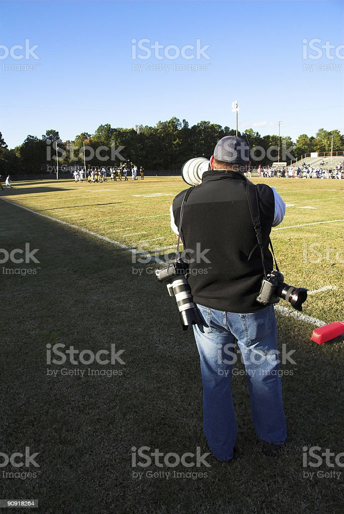 Because one camera isn't enough stock photo