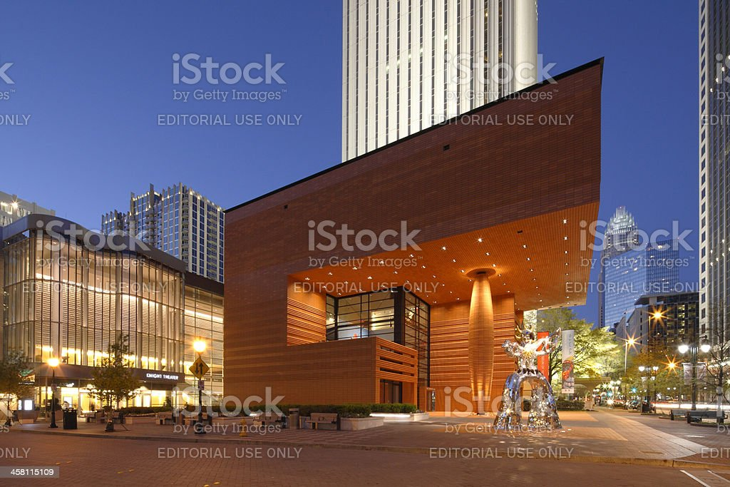 Bechtler Museum of Modern Art royalty-free stock photo