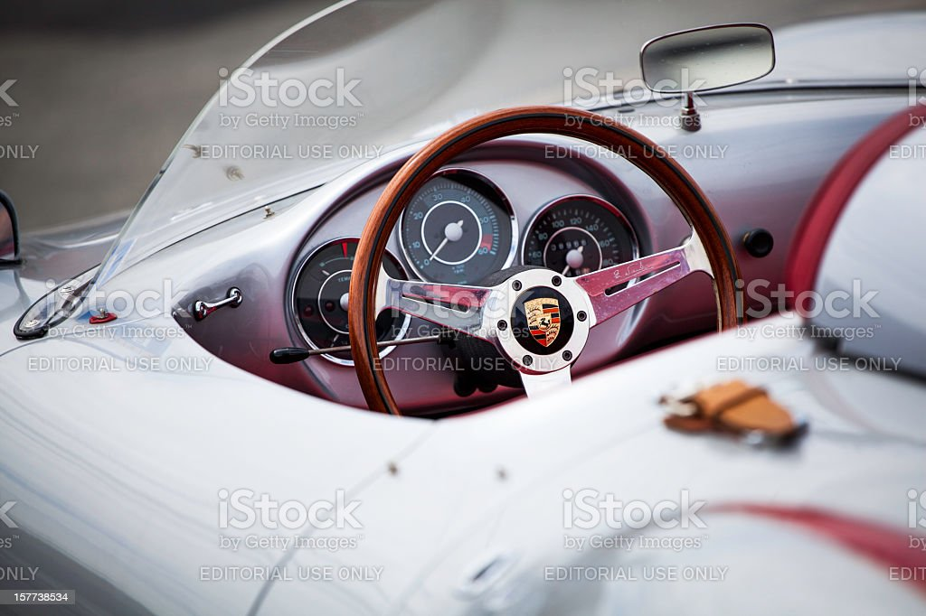 Beck Porsche 550 Spyder stock photo