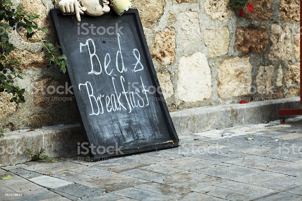 Bed and Breakfast Hotel, Kaleici royalty-free stock photo