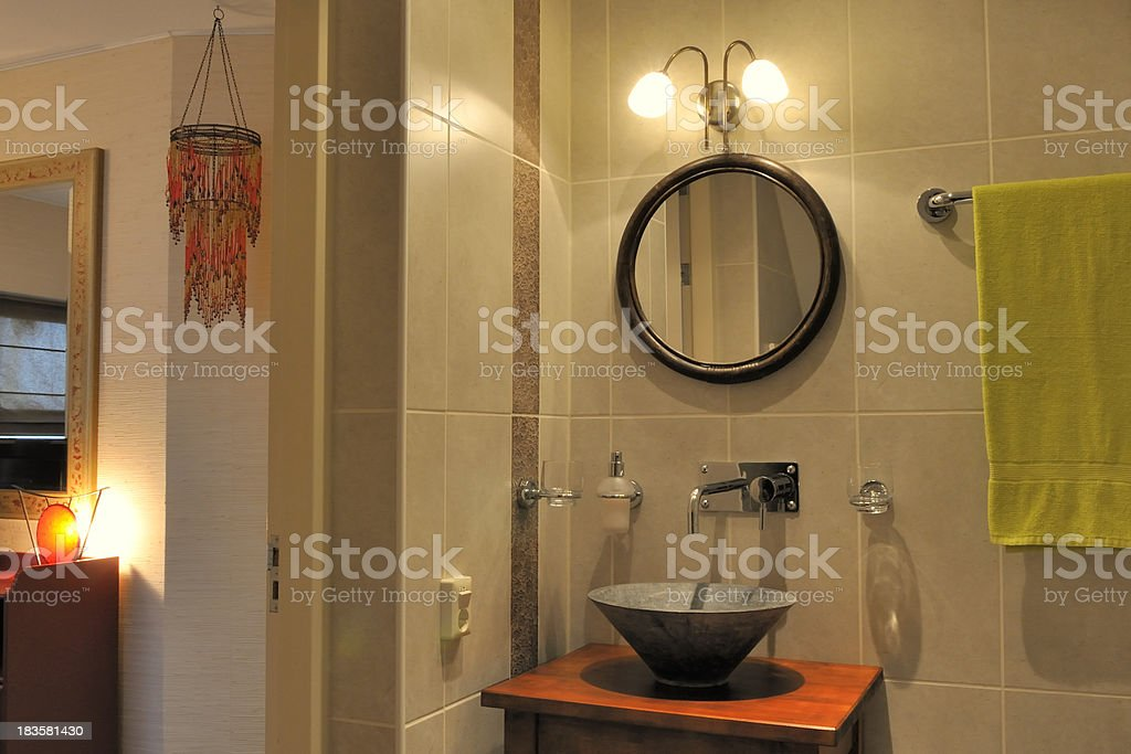 Bed and Breakfast room royalty-free stock photo