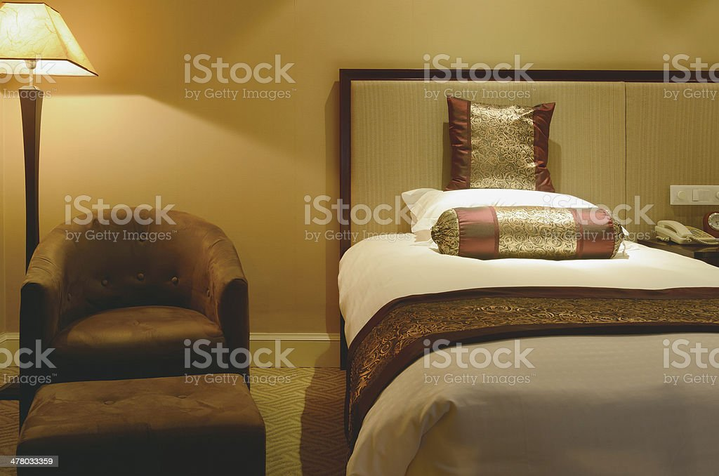 Bed and Sofa royalty-free stock photo