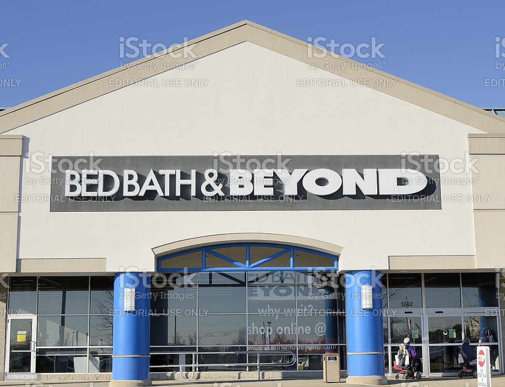 Bed Bath & Beyond royalty-free stock photo