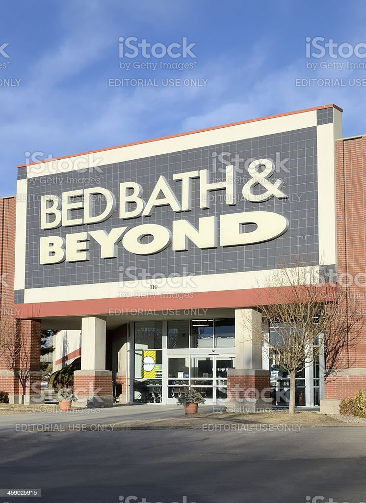 Bed Bath & Beyond royalty-free stock photo