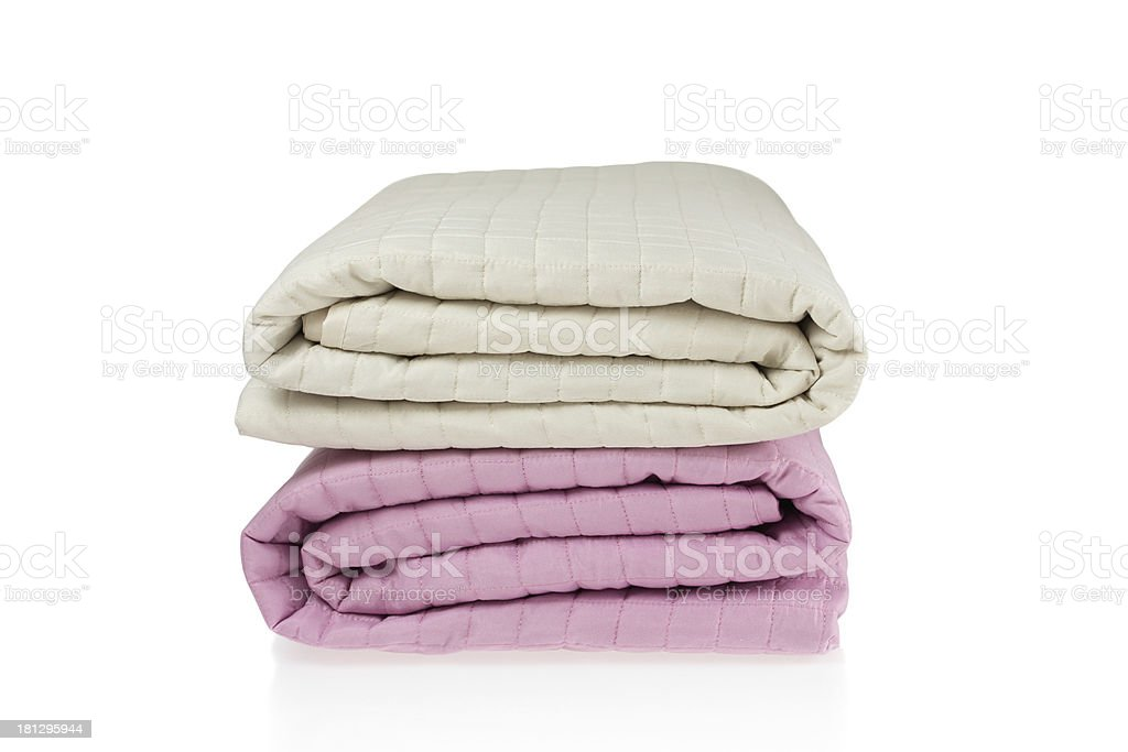 Bed Covers stock photo