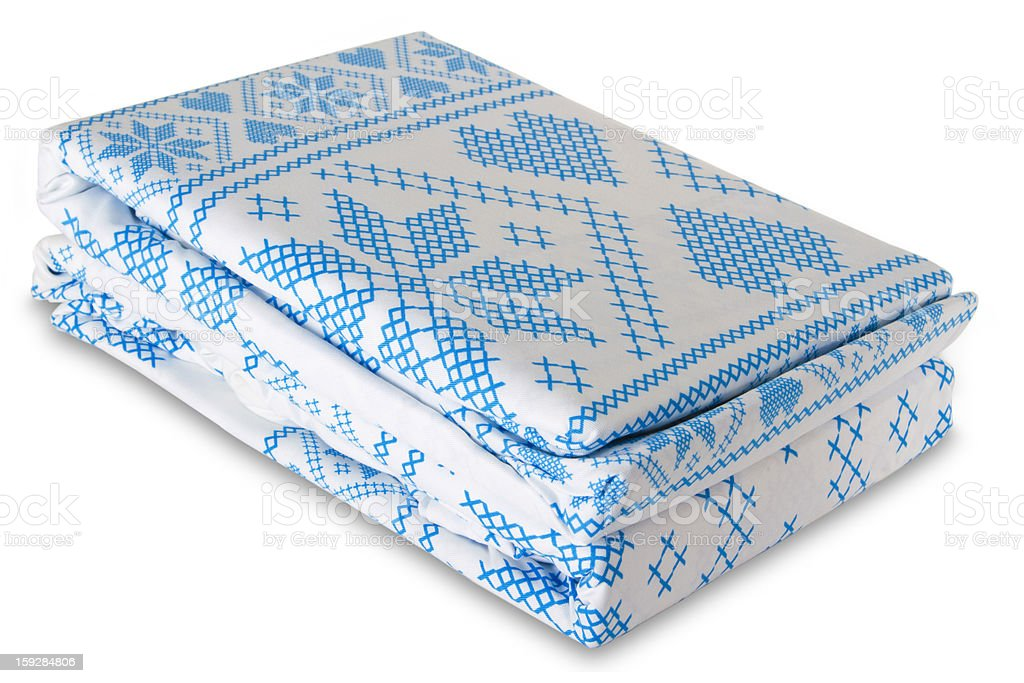 Bed linen royalty-free stock photo