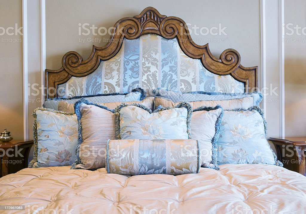 Bed Linens stock photo