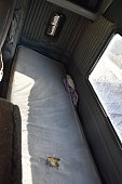 bed of a truck driver