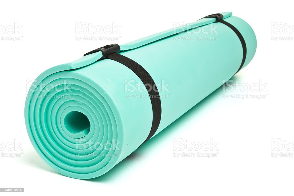 Bed roll royalty-free stock photo