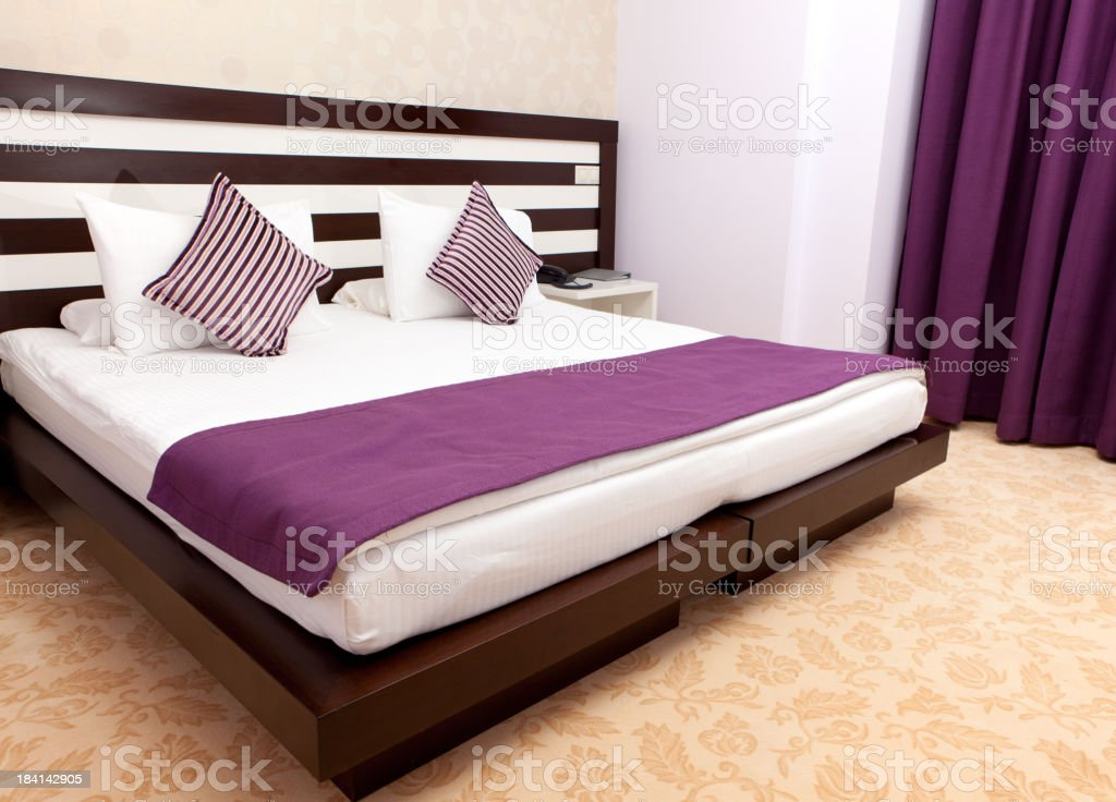 Bed room interior royalty-free stock photo