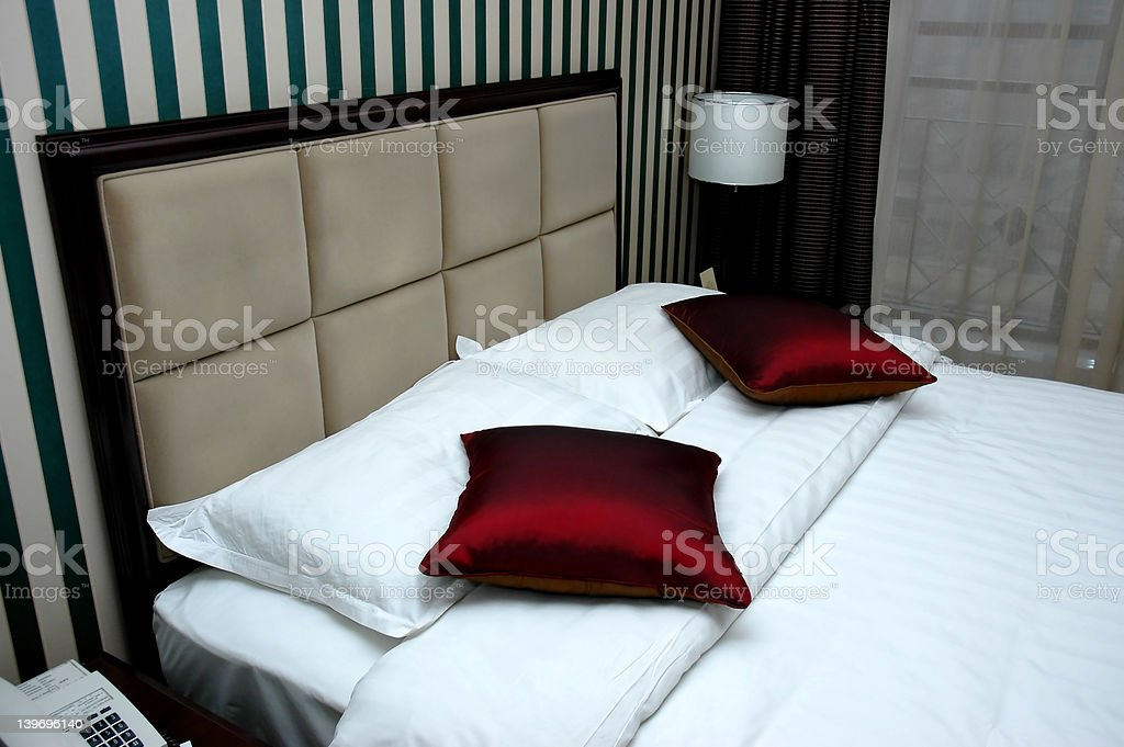 Bed room royalty-free stock photo
