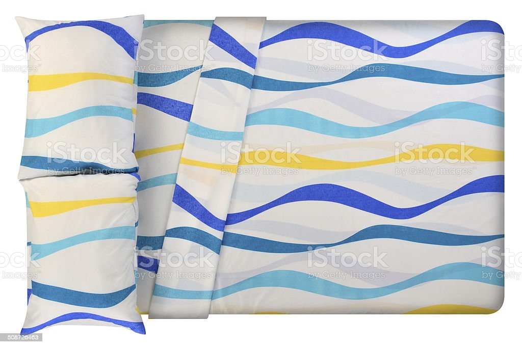 Bed. series. Clipping path stock photo