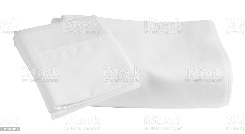 Bed sheets. stock photo