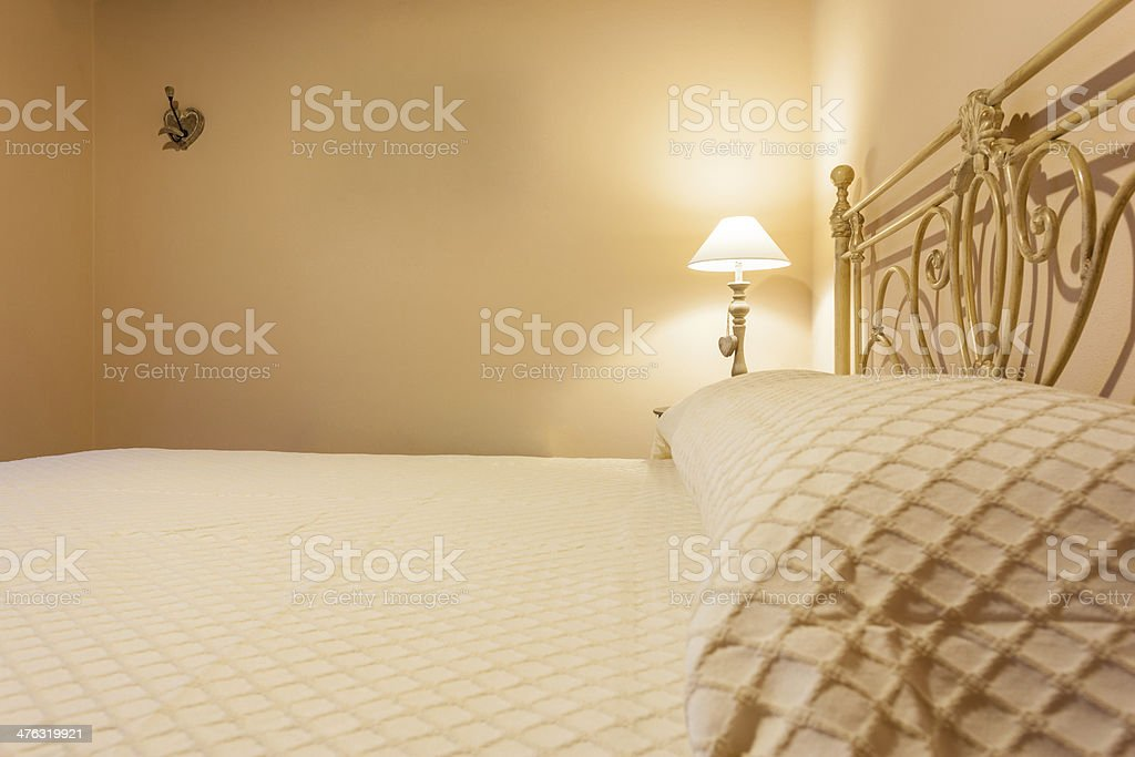Bed Side royalty-free stock photo