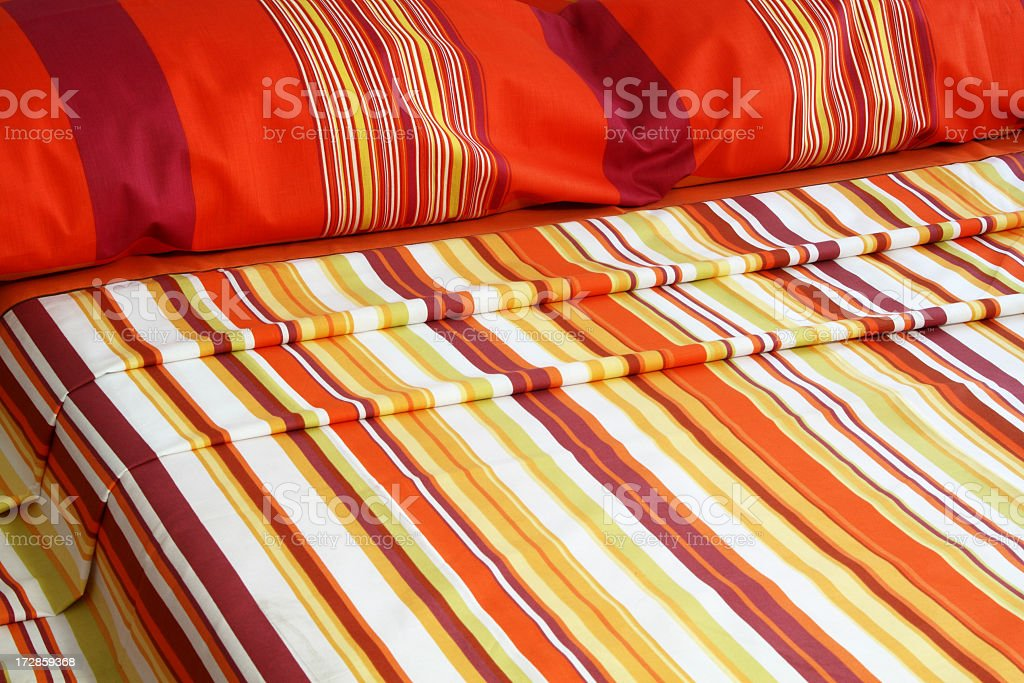Bed Spreads royalty-free stock photo