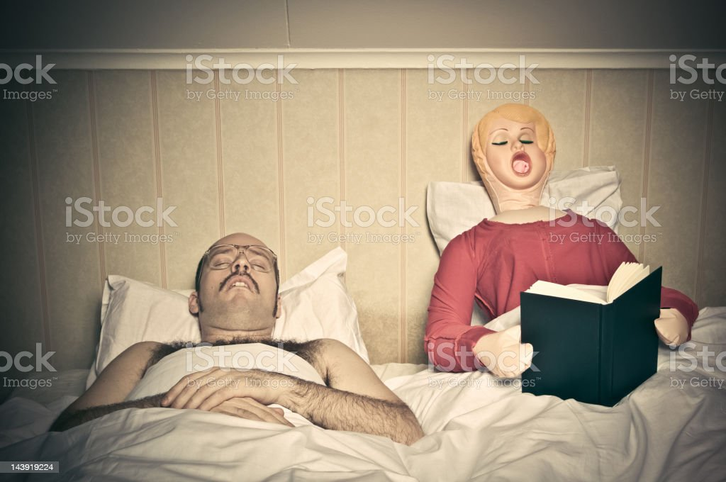 Bed Time Routines stock photo