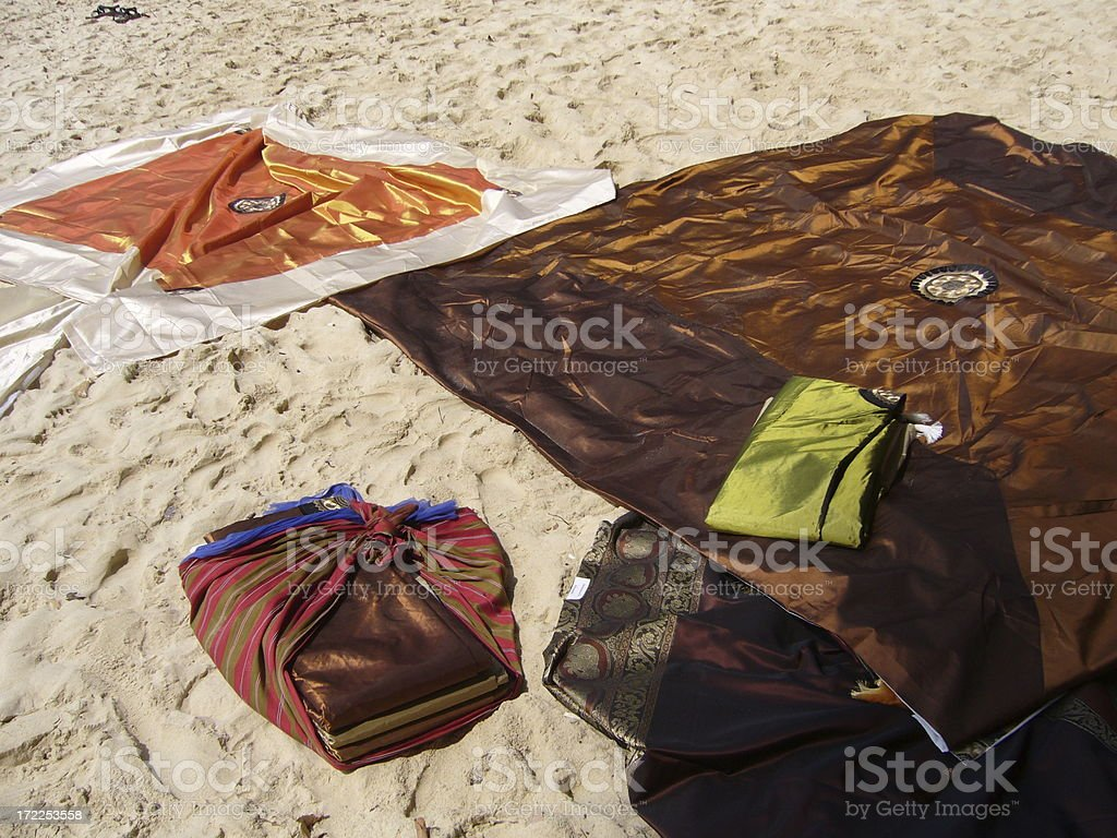 bedcovers royalty-free stock photo