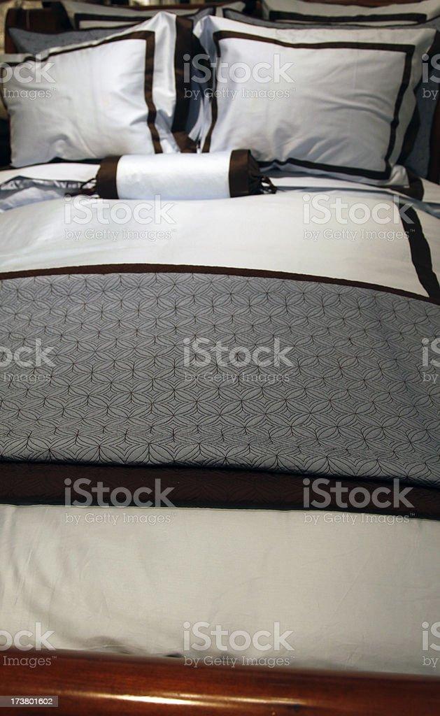 Bedding royalty-free stock photo
