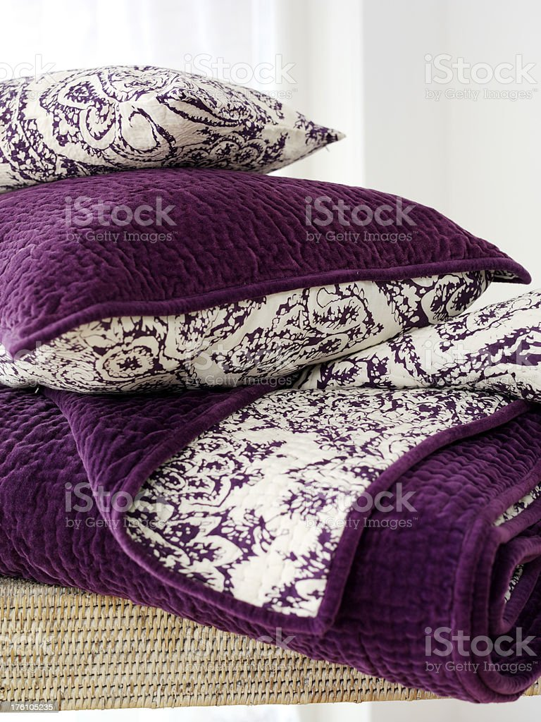 bedding royalty-free stock photo