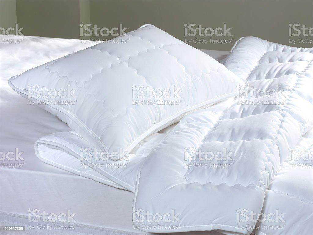 bedding stock photo