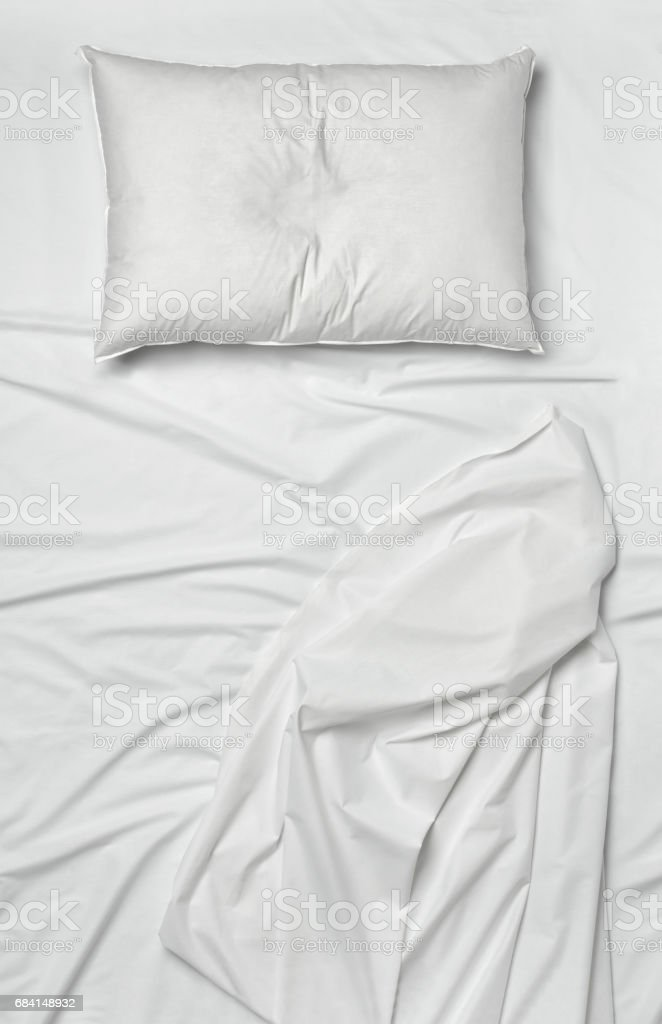 white bedding sheet