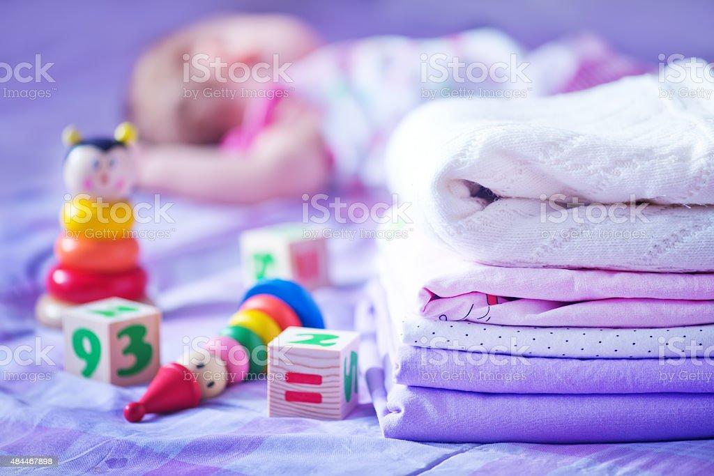 bed-linen stock photo