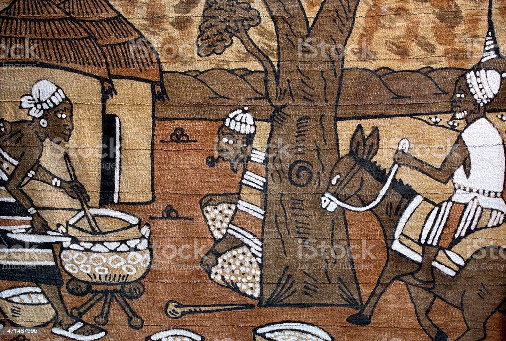 bedouin carpet stock photo
