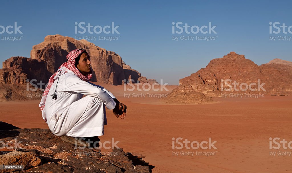 Bedouin stock photo