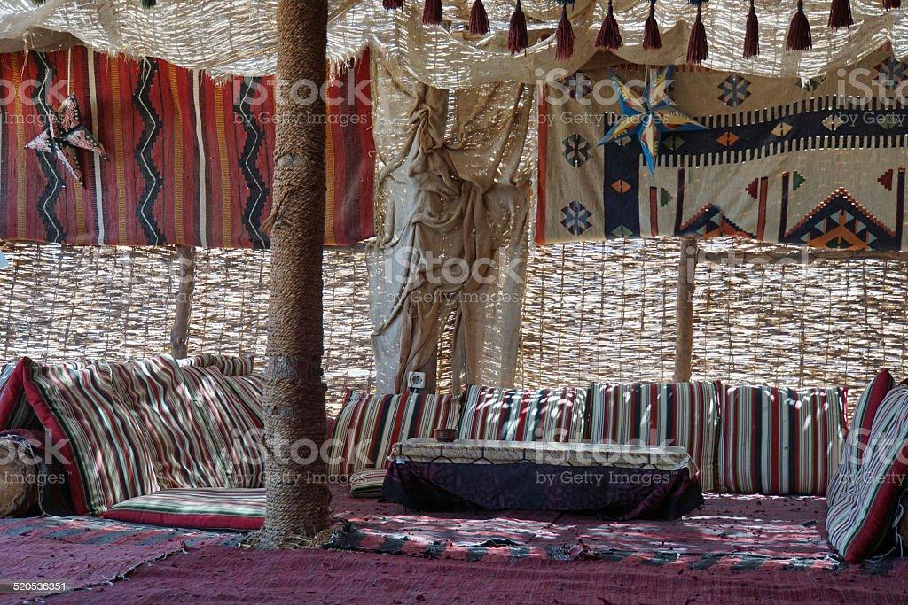 Bedouine Tent stock photo