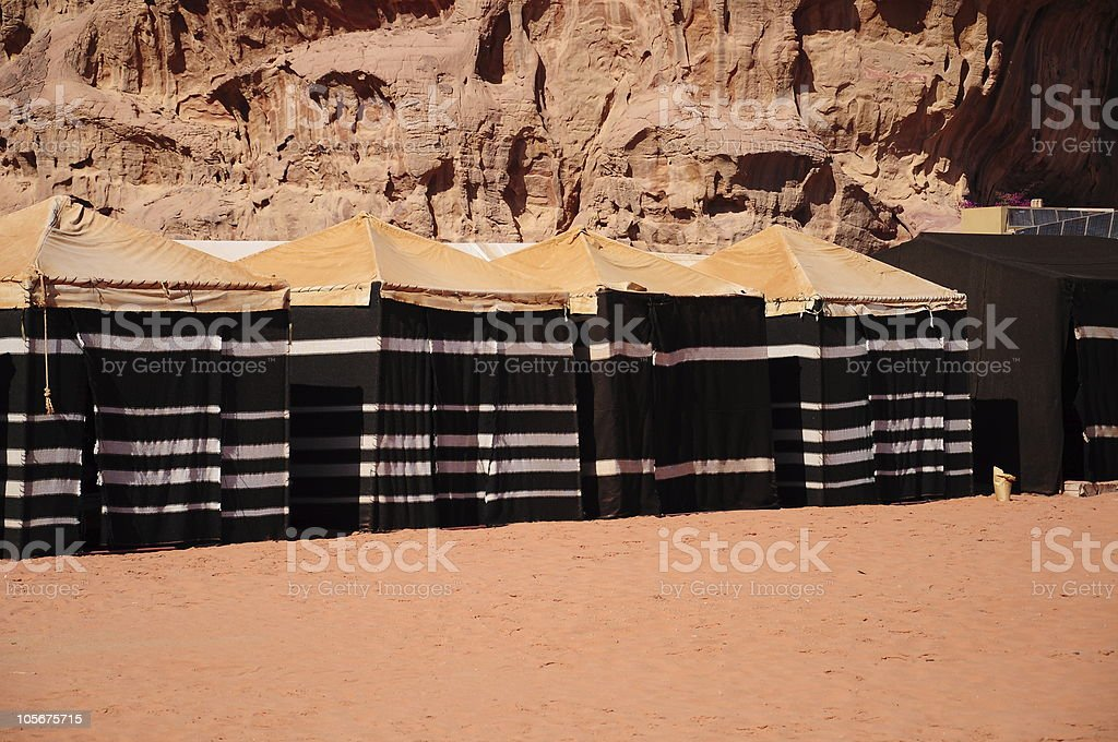 Africa Jordan - Middle East Middle East Morocco Residential Building. bedouinu0027s tents ... & Bedouins Tents On Desert stock photo 105675715 | iStock