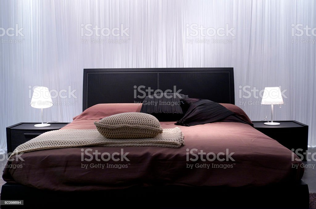 Bedroom by Italy stock photo