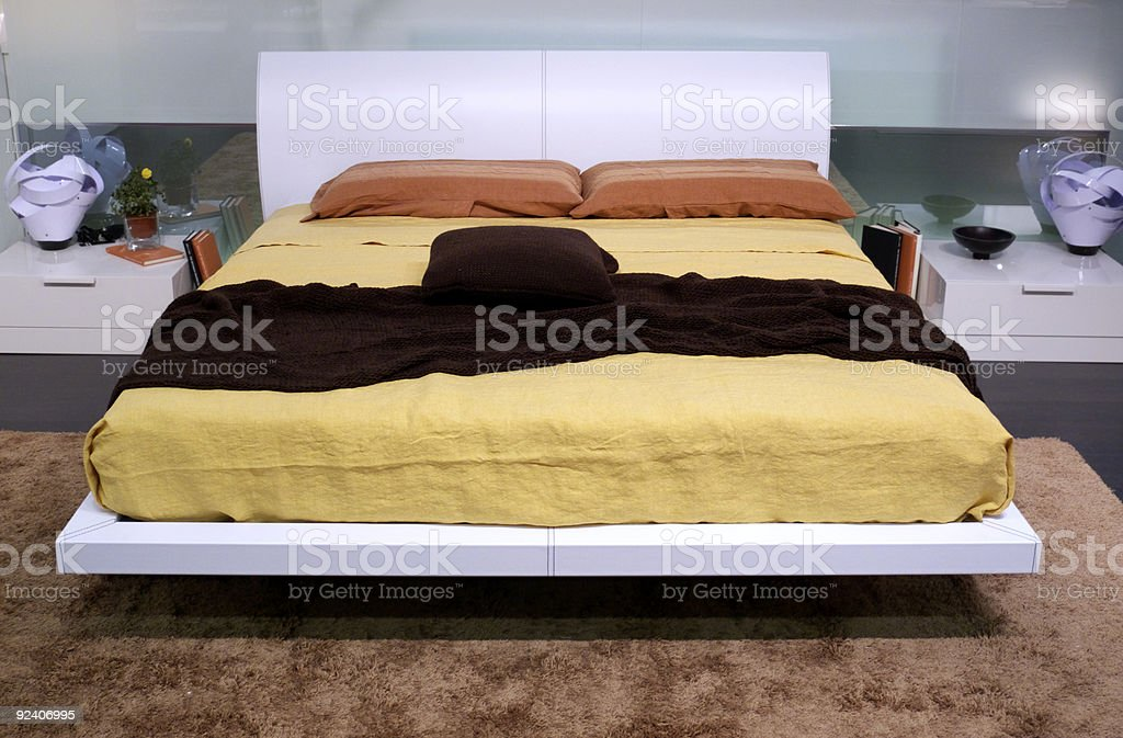 Bedroom by Italy royalty-free stock photo
