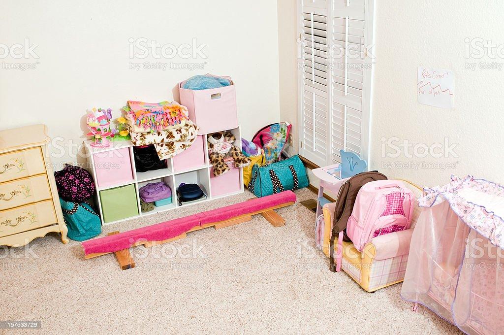 Bedroom clean stock photo
