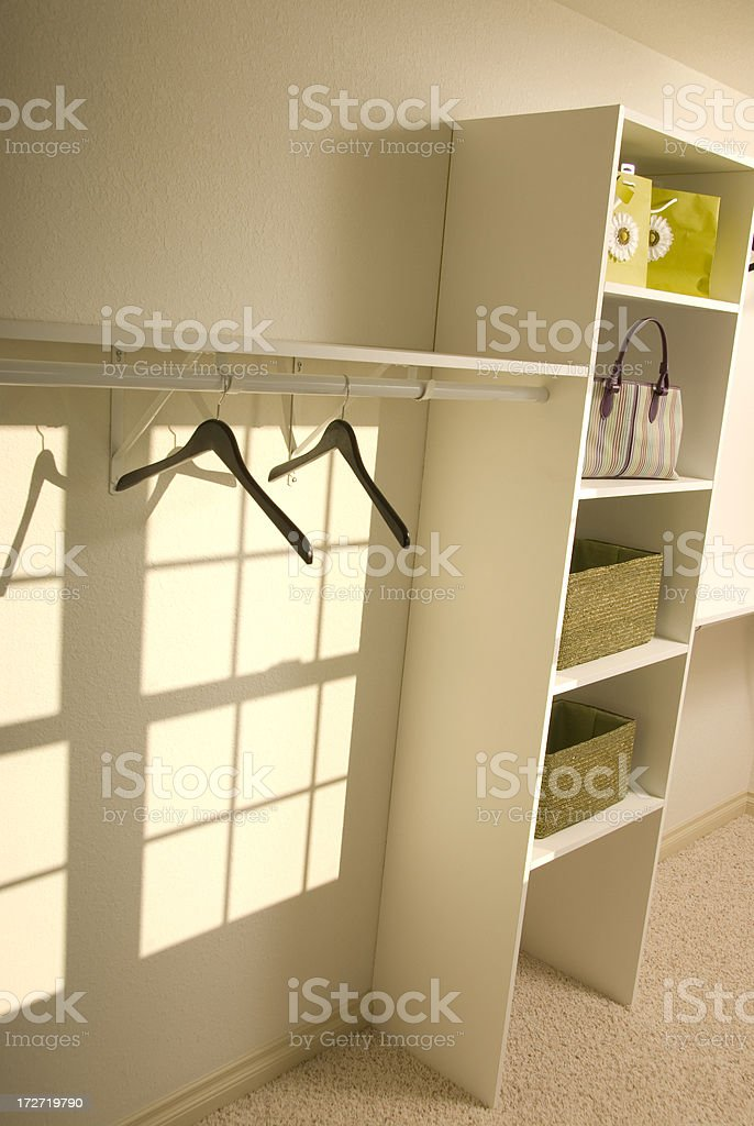 Bedroom Closet royalty-free stock photo