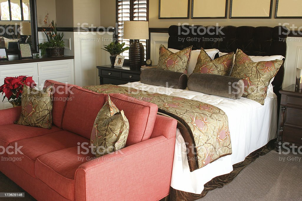 bedroom decor #1 royalty-free stock photo