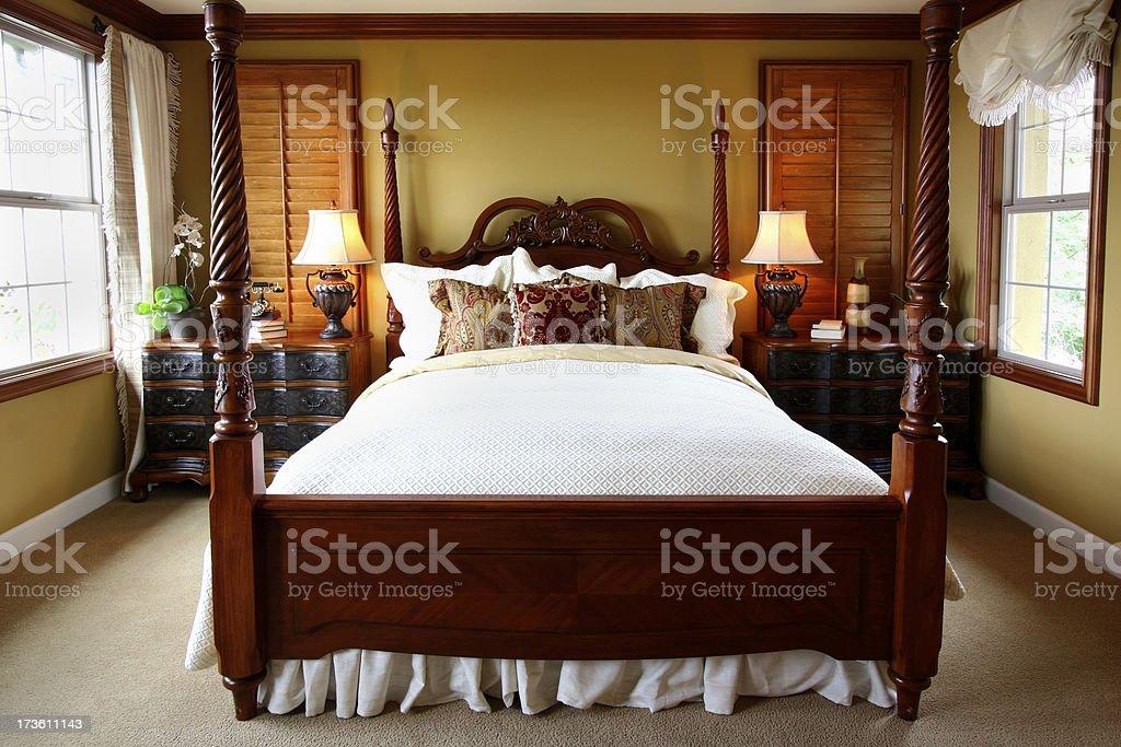 Bedroom Elegance stock photo