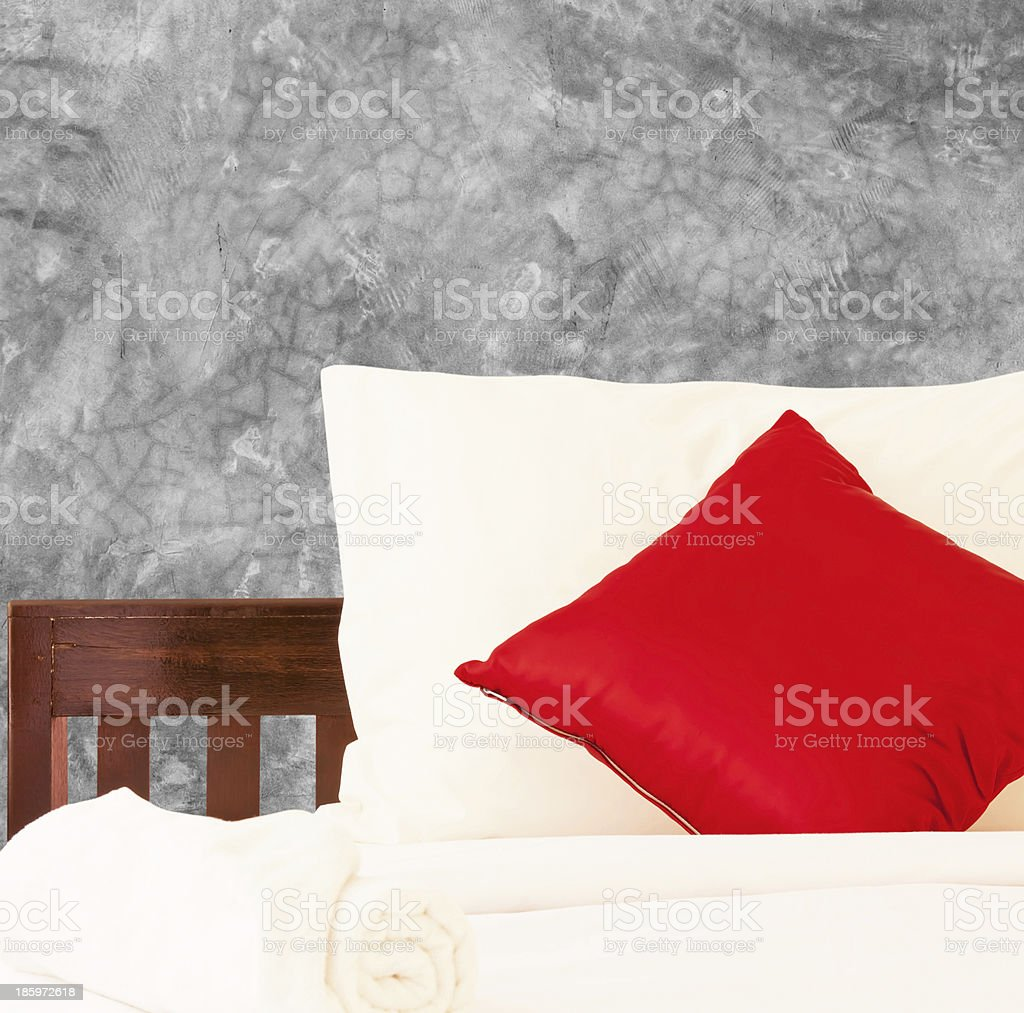 Bedroom for holiday royalty-free stock photo