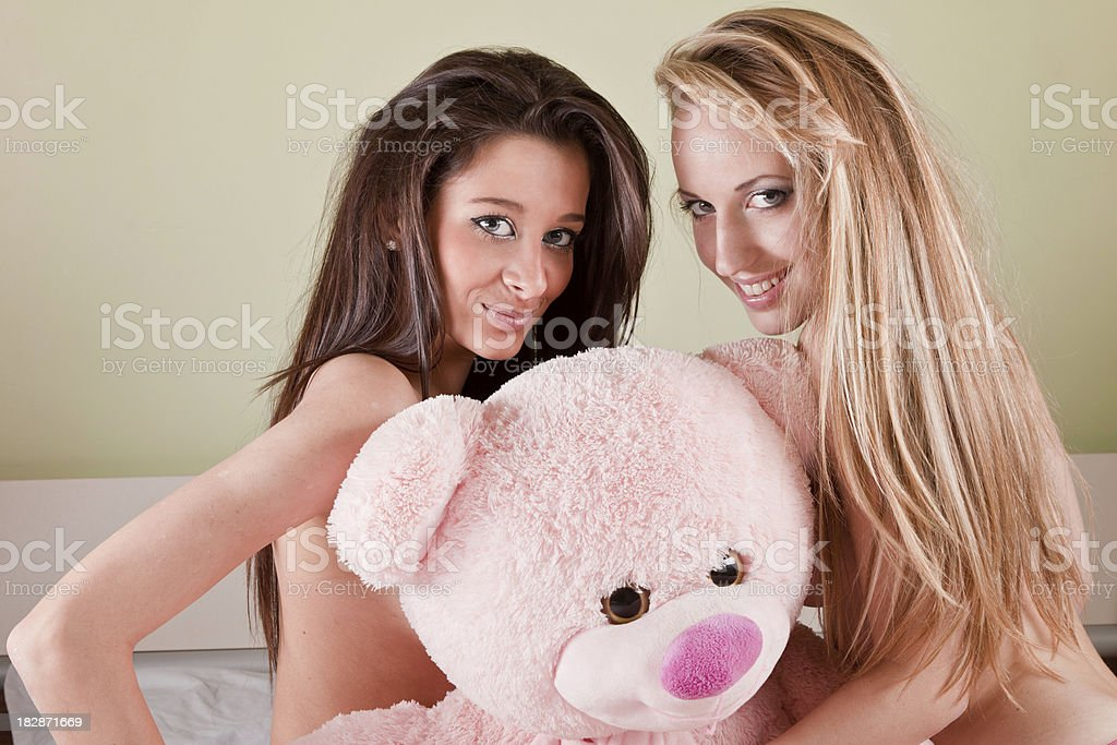 Bedroom games royalty-free stock photo
