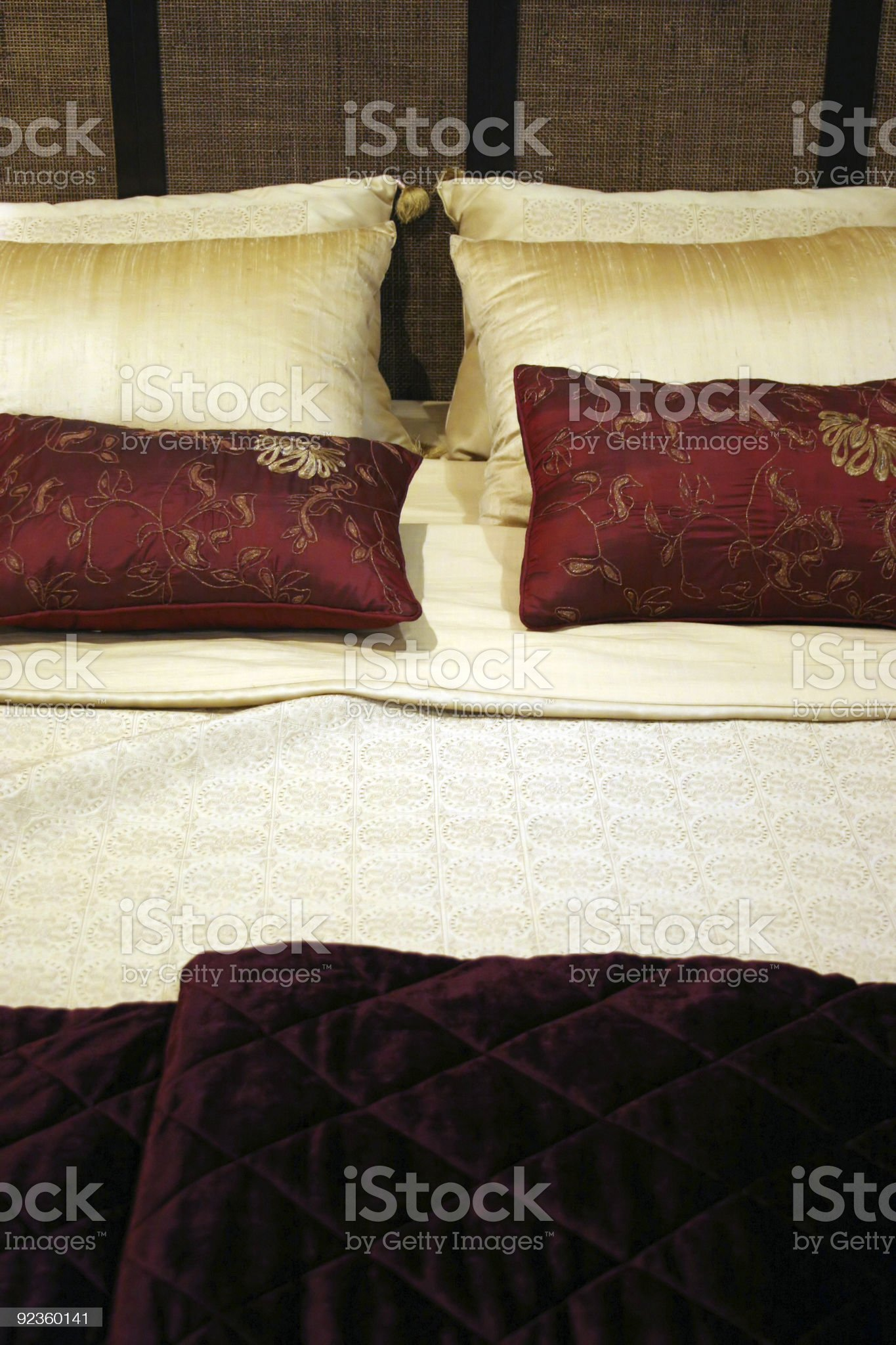 Bedroom - home interiors royalty-free stock photo