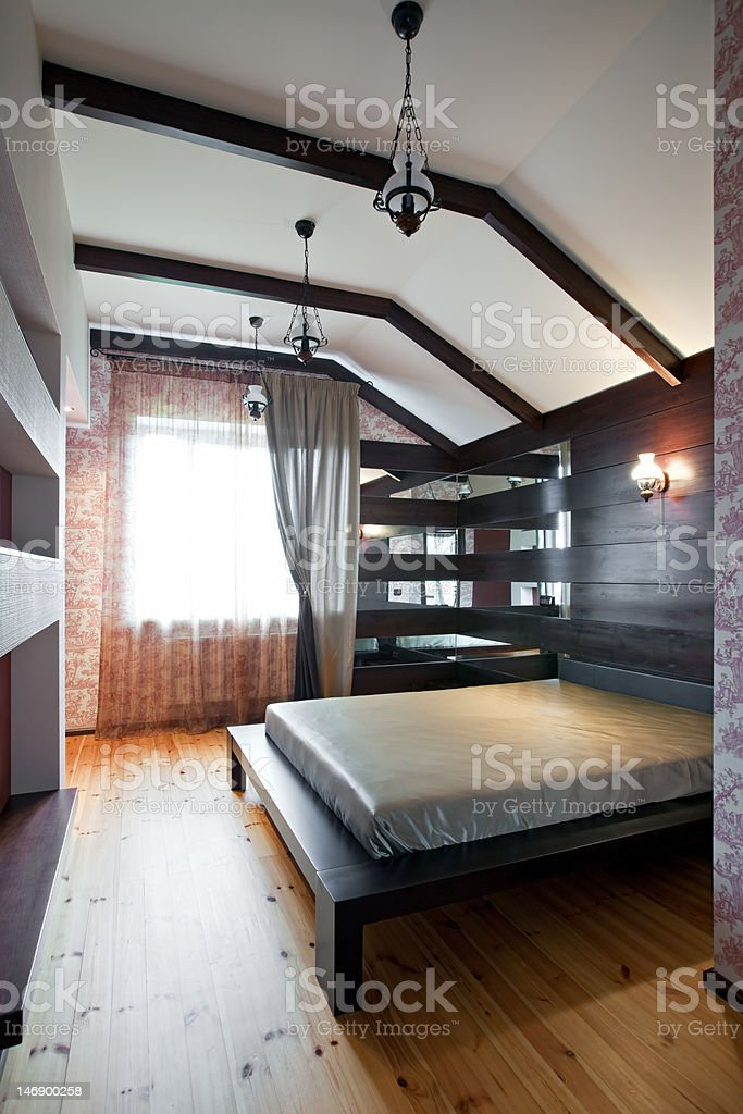 Bedroom interior royalty-free stock photo