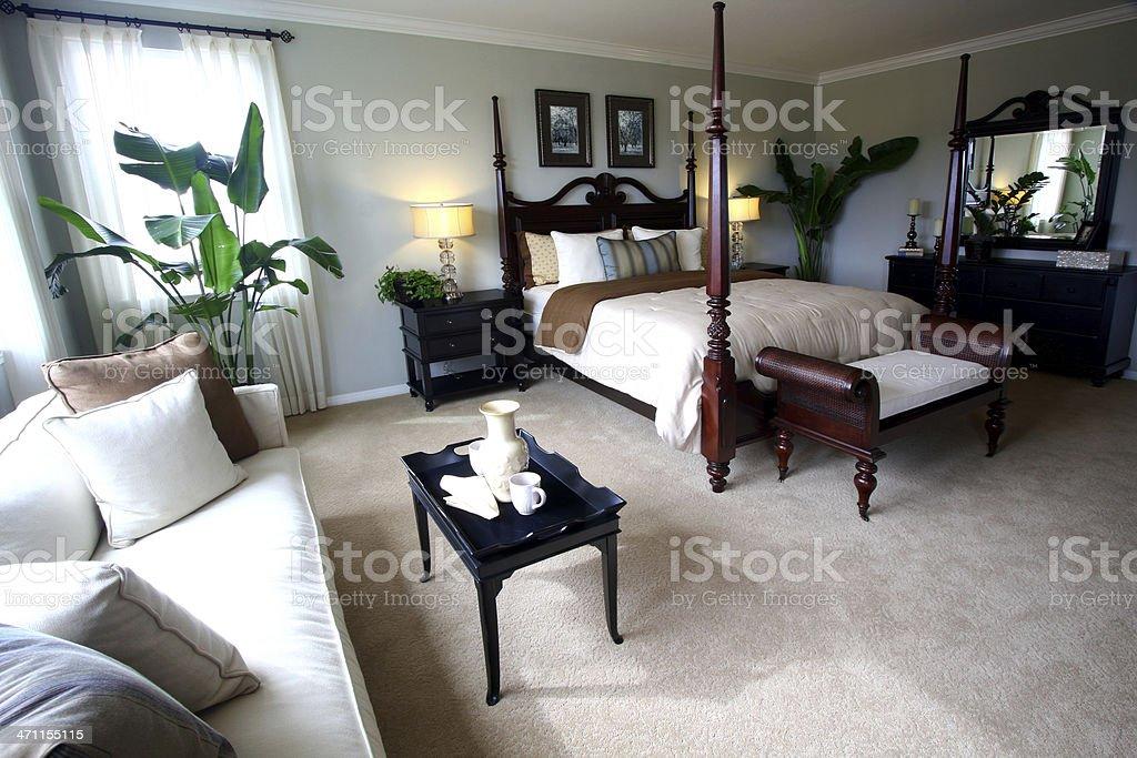 Bedroom Luxury stock photo